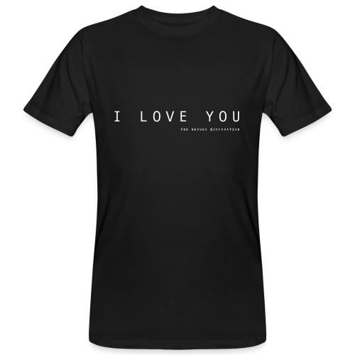 I Love You by The Nerved Corporation - Men's Organic T-Shirt