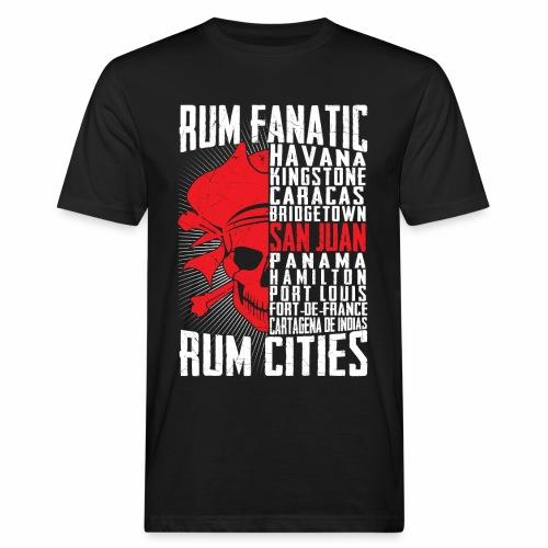 T-shirt Rum Fanatic - San Juan, Puerto Rico - Ekologiczna koszulka męska