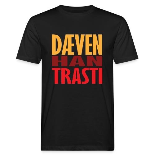 Dæven Han Trasti - Økologisk T-skjorte for menn