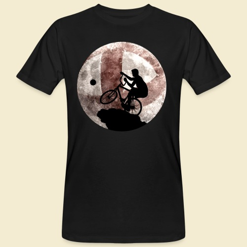 Radball | Cycle Ball Moon - Männer Bio-T-Shirt