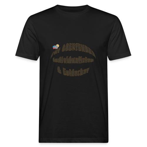 Abenteurer Individualisten & Entdecker - Männer Bio-T-Shirt