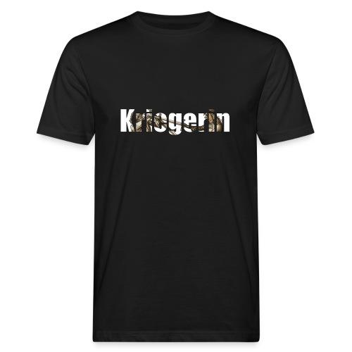 kriegerin - Männer Bio-T-Shirt