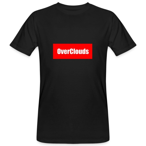 OverClouds Box Logo - T-shirt ecologica da uomo