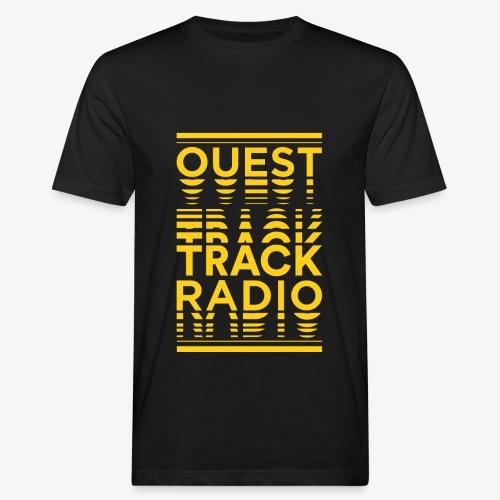 Logo Vertical Grand Jaune - T-shirt bio Homme