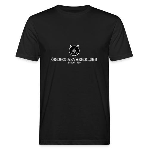 nyloggatext2medvitaprickar - Ekologisk T-shirt herr