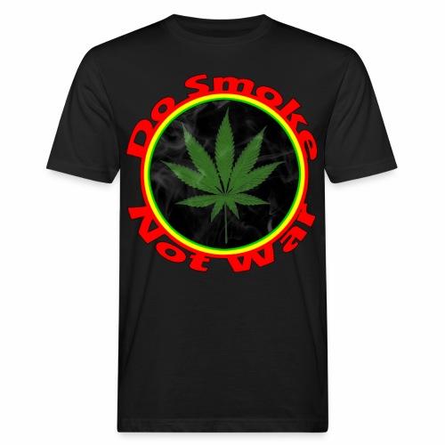 Do Smoke Not War - Männer Bio-T-Shirt