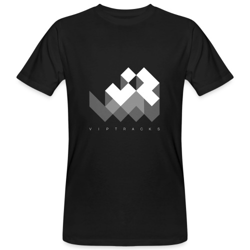 LOGO VIPTRACKS RELEASES - Mannen Bio-T-shirt