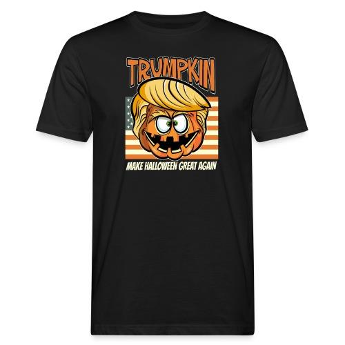 Trumpkin Donald Trump Halloween - Männer Bio-T-Shirt