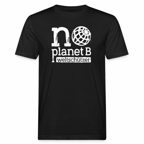 Weltschützer - Männer Bio-T-Shirt
