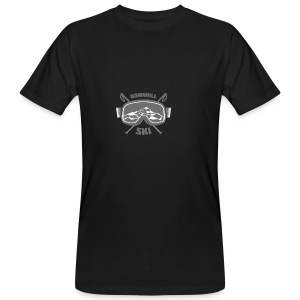 Downhill Ski - Men's Organic T-shirt