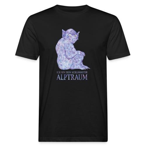 Ich bin Dein schlimmster Alptraum - Männer Bio-T-Shirt