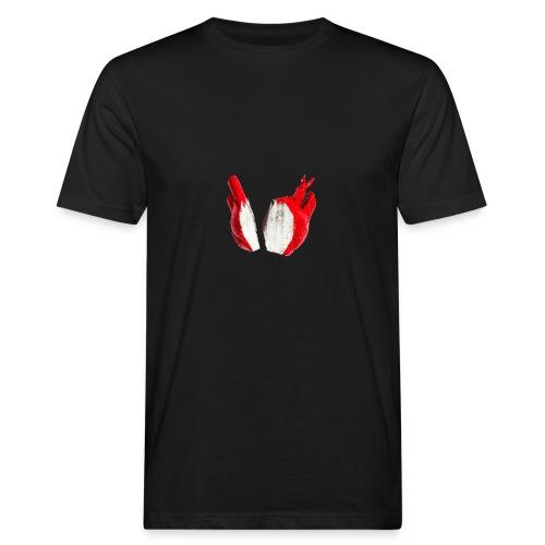 herz - heart - Männer Bio-T-Shirt