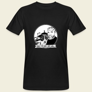 Don't fear the BEAR(d) - Männer Bio-T-Shirt