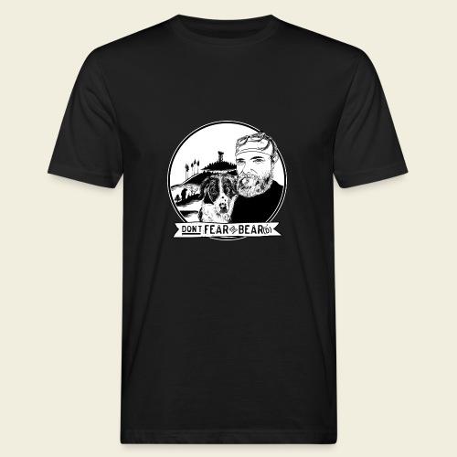 Don't fear the BEAR(d) - Männer Bio-T-Shirt