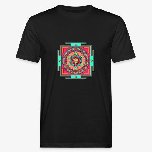Mandala- Merkaba - Ekologisk T-shirt herr