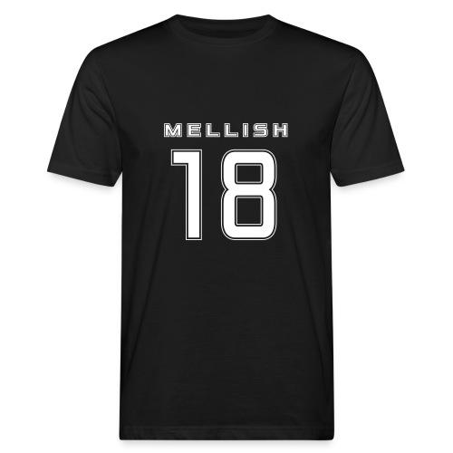 Mellish Number White - Men's Organic T-Shirt