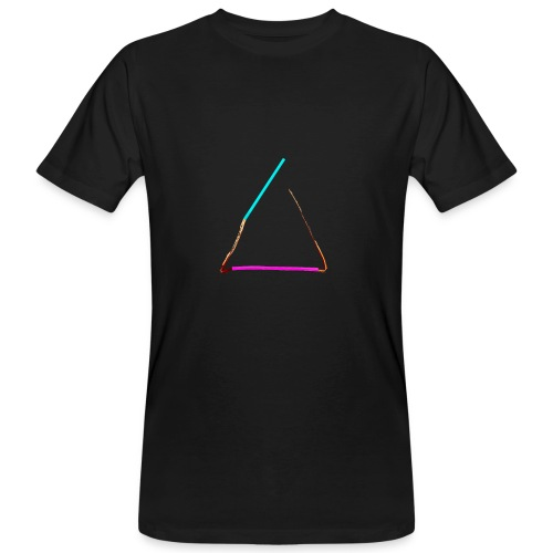 3eck - Dreieck - triangle - Männer Bio-T-Shirt