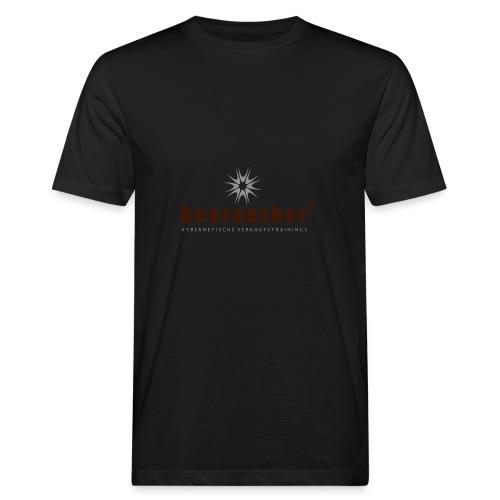 Logo beyreuther verkaufstrainer - Männer Bio-T-Shirt