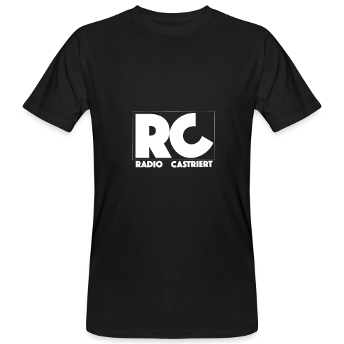 Radio CASTriert Logo 2017/2018 - Männer Bio-T-Shirt