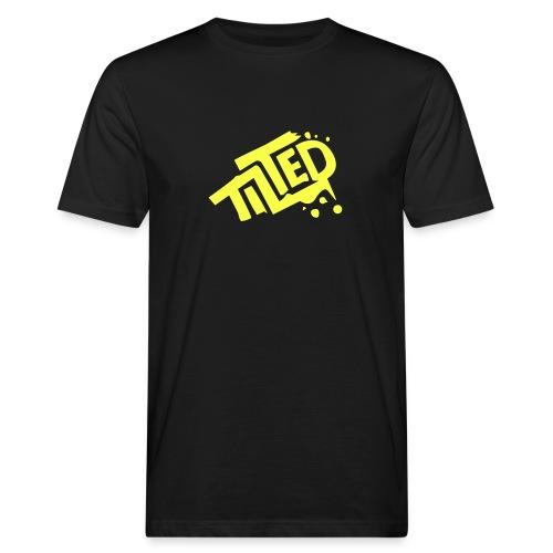 Fortnite Tilted (Yellow Logo) - Men's Organic T-shirt