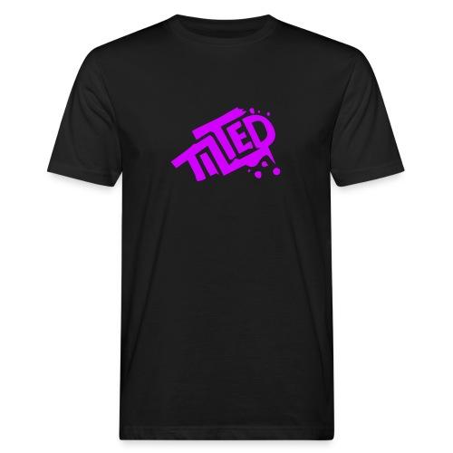 Fortnite Tilted (Pink Logo) - Men's Organic T-shirt