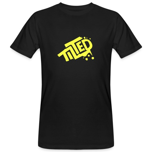 Fortnite Tilted (Yellow Logo) - Men's Organic T-Shirt