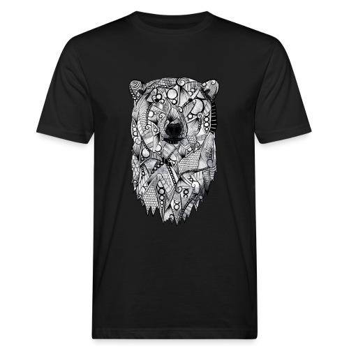 Isbjørn - Økologisk T-skjorte for menn
