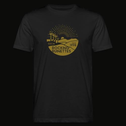 RockingRuinettes gold - Männer Bio-T-Shirt