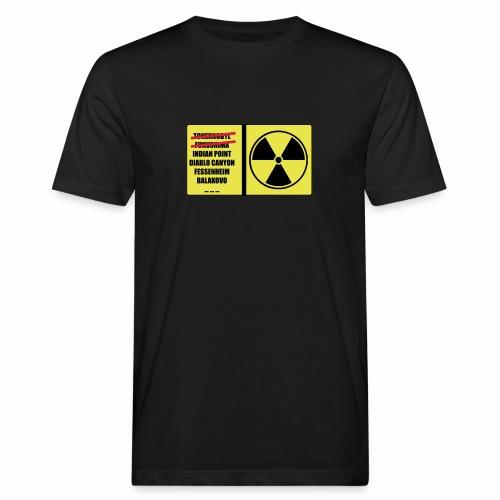 nucleaire - T-shirt bio Homme