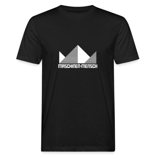 Maschinen-Mensch Logo black - Männer Bio-T-Shirt