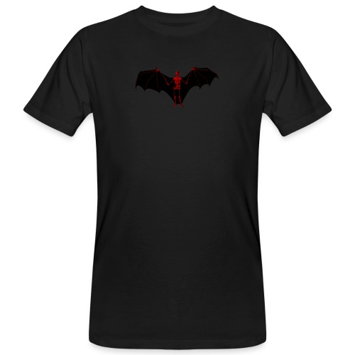 Skeleton Bat - Männer Bio-T-Shirt