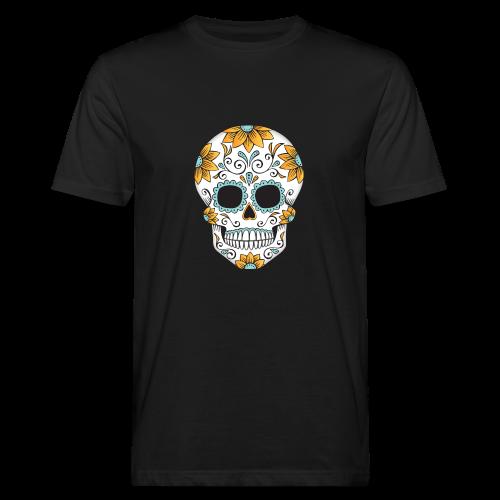 SUGAR SKULL 03 - Men's Organic T-Shirt