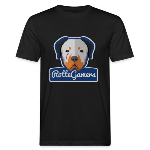 Original RotteGamers Hoodie Logo - Mannen Bio-T-shirt