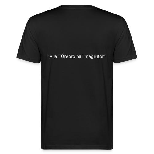 Ju jutsu förslag 2 version 1 vit text - Ekologisk T-shirt herr