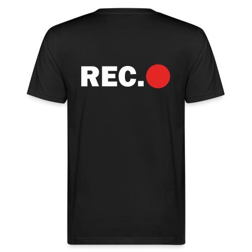 Cameraman Cap - Mannen Bio-T-shirt