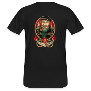 SEA CAPTAIN TATTOO - Men's Organic T-shirt