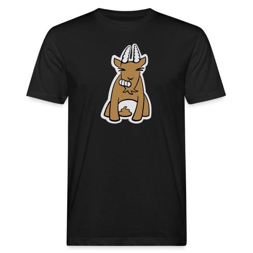 Scheissbock - Männer Bio-T-Shirt
