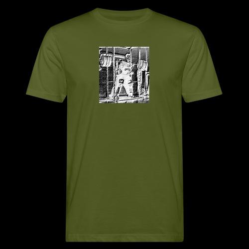 Squat! Get Strong! - Miesten luonnonmukainen t-paita