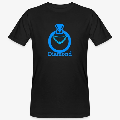 Diamond - Männer Bio-T-Shirt