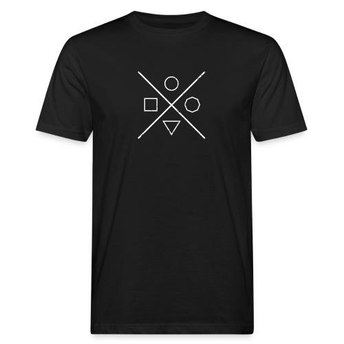 Hipsterkreuz - Männer Bio-T-Shirt