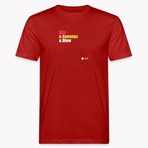 AKs & Bananas & Blow - Männer Bio-T-Shirt