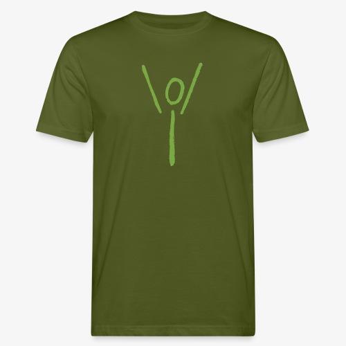Yubel grün Graffiti - Männer Bio-T-Shirt