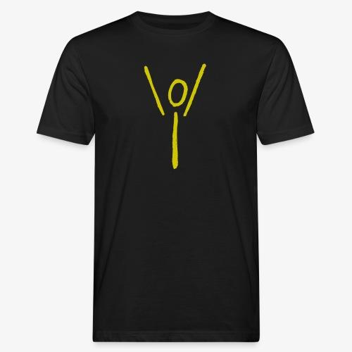 Yubel gelb Graffiti - Männer Bio-T-Shirt