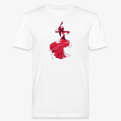 la danseuse de flamenco - T-shirt bio Homme