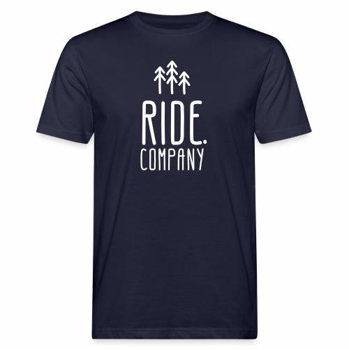 RIDE.company Logo - Männer Bio-T-Shirt