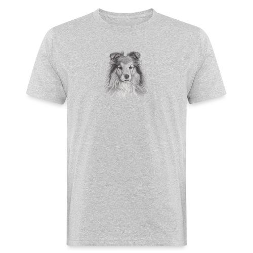 shetland sheepdog sheltie - Organic mænd