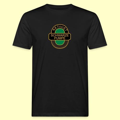 BSG Aktivist Schwarze Pumpe - Männer Bio-T-Shirt
