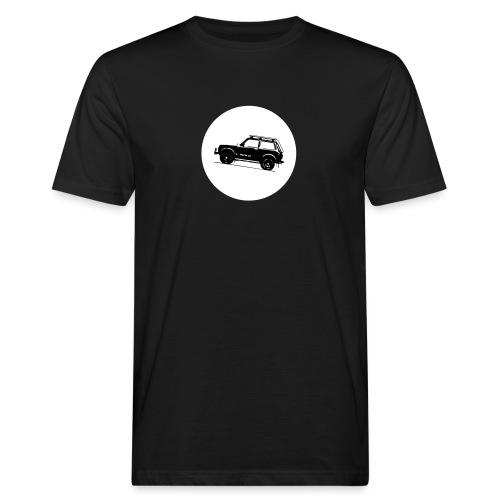 Lada Niva Kreis - Männer Bio-T-Shirt