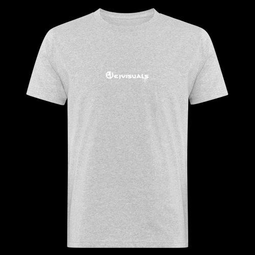 - EJVisuals Logo - Mannen Bio-T-shirt