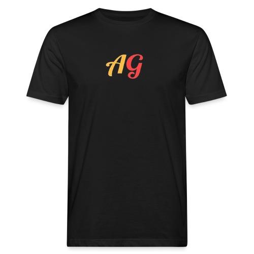 Gekleurde letters - Mannen Bio-T-shirt